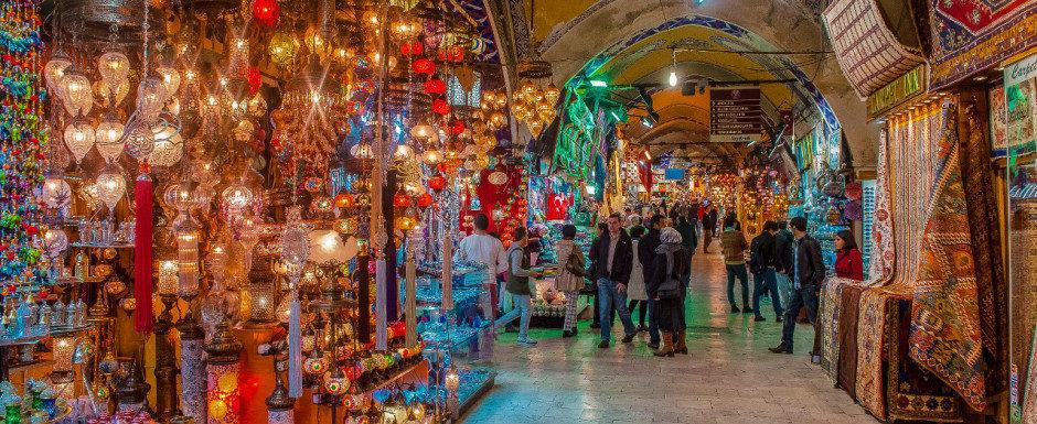 Shopping at Alanya Bazaar