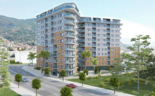 New Complex Apartment In Cleopatra Alanya