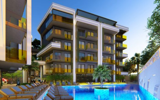Luxury Project In Cleopatra Alanya