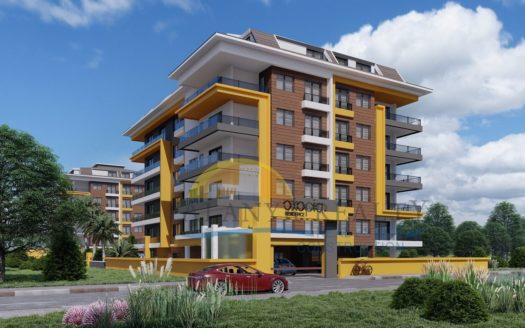 Zero Sea Apartment In Kestel