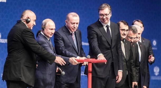 The gas ring closes: Russia and Turkey launched a new gas pipeline