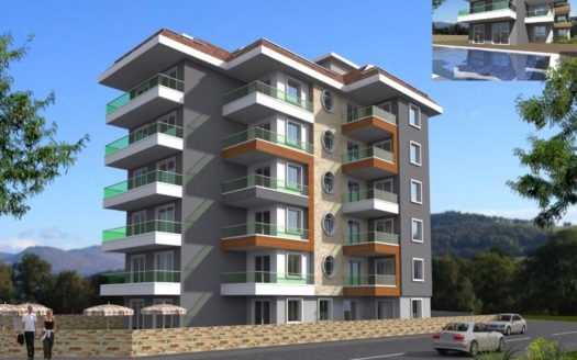 Apartment for sale in Avsallar