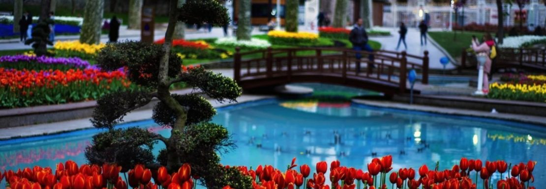 Gardens in Istanbul