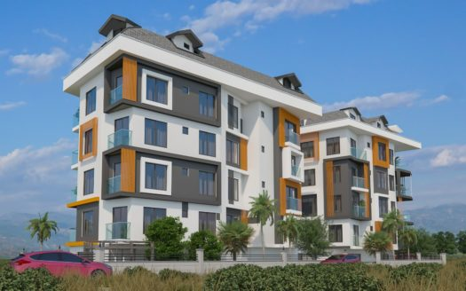 Apartment for sale in Alanya Cleopatra