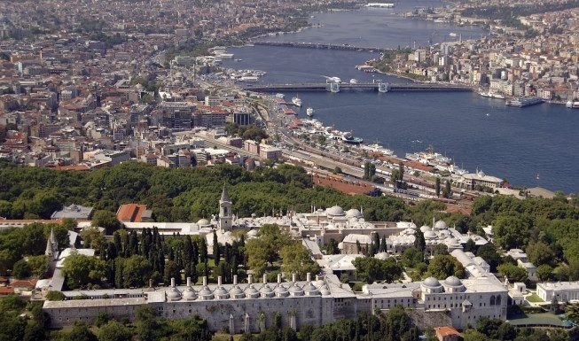 the seven hills in Istanbul
