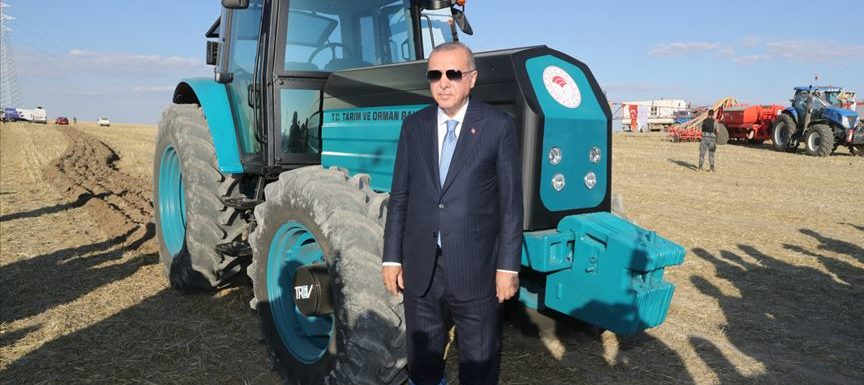 Turkey will start producing the first electric tractor
