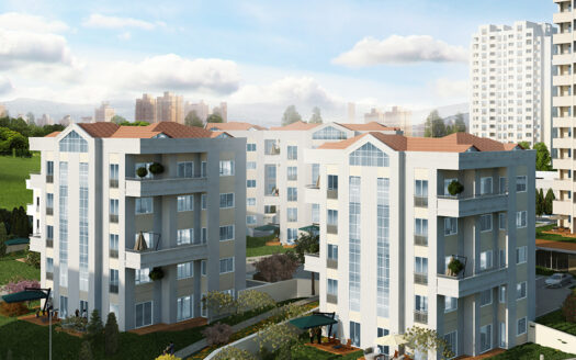 Apartments and villas for sale within a residential project