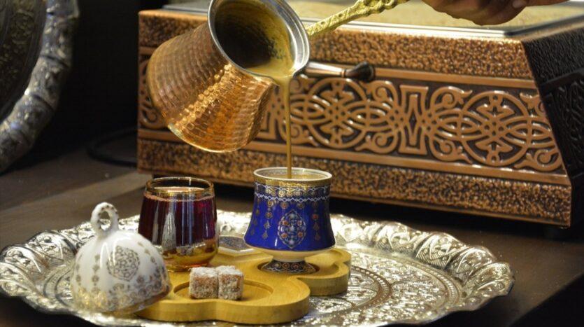 The coffee palace in Turkish Malatya