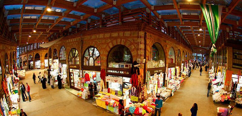 Most beautiful tourist markets in Turkey