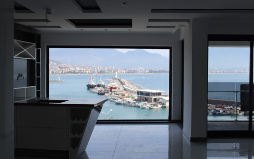 Luxury apartment with sea view