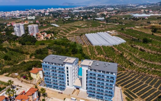 Duplex apartments for sale in Alanya
