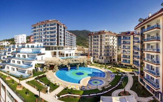 Luxury duplex for sale in Alanya
