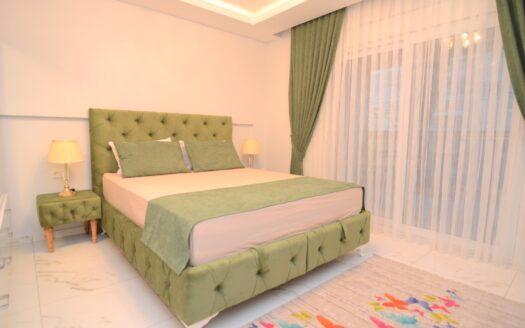 Furnished apartment for sale in Mahmutlar