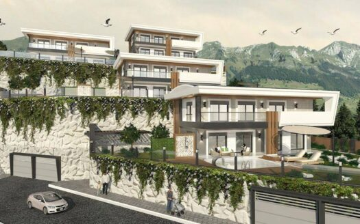 Luxury villas for sale in Alanya