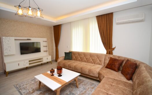Furnished duplex near the sea