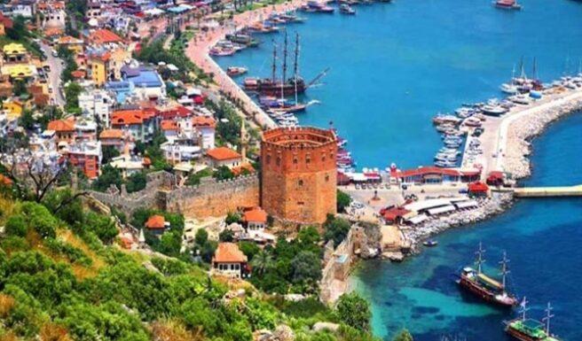Alanya the city of Turkish tourism