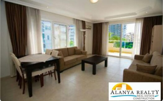 Furnished apartment for sale in Alanya