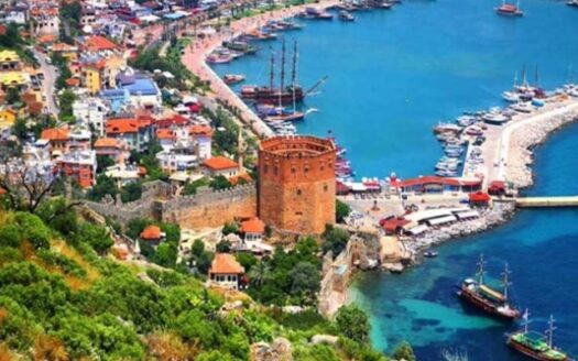 Alanya the city of Turkish tourism